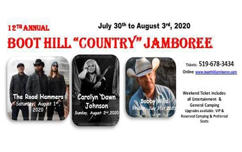 CANCELLED - Boothill 'County' Jamboree 2020