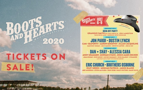 Boots & Hearts 2020