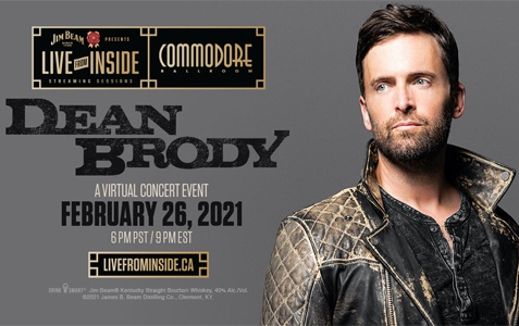 Live From Inside: Dean Brody