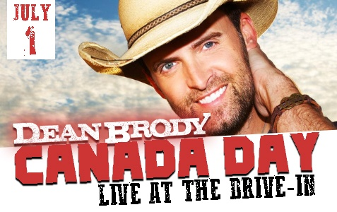 Dean Brody - Live at the Drive In