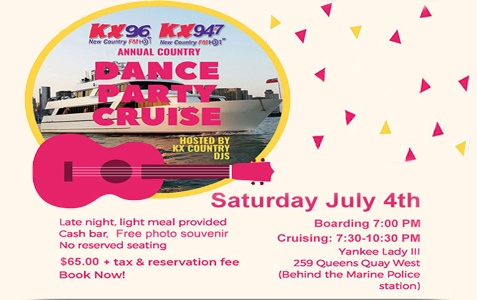 POSTPONED - KX Country Dance Party Cruise
